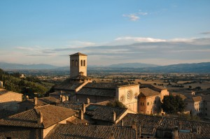 assisi's sunset
