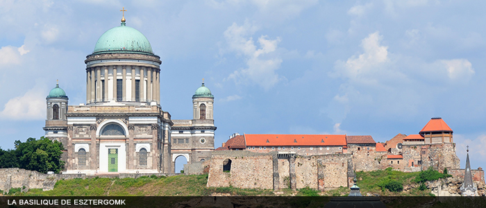 imposing building of Basilica Esztergom,Hungary