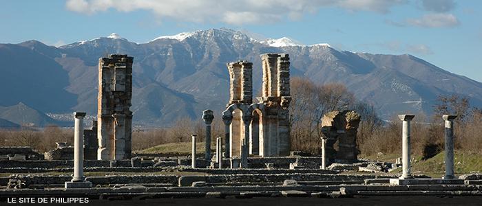 Philippes Agora et basilique 700x300