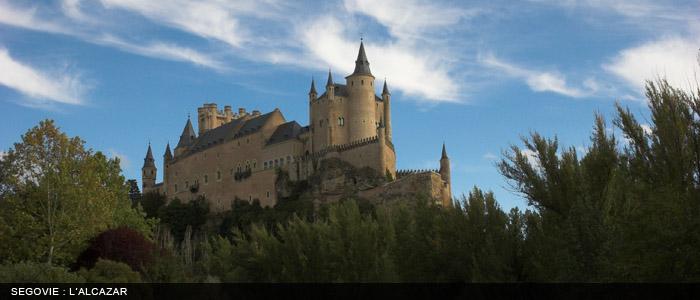Segovia - Alcazar 700x300