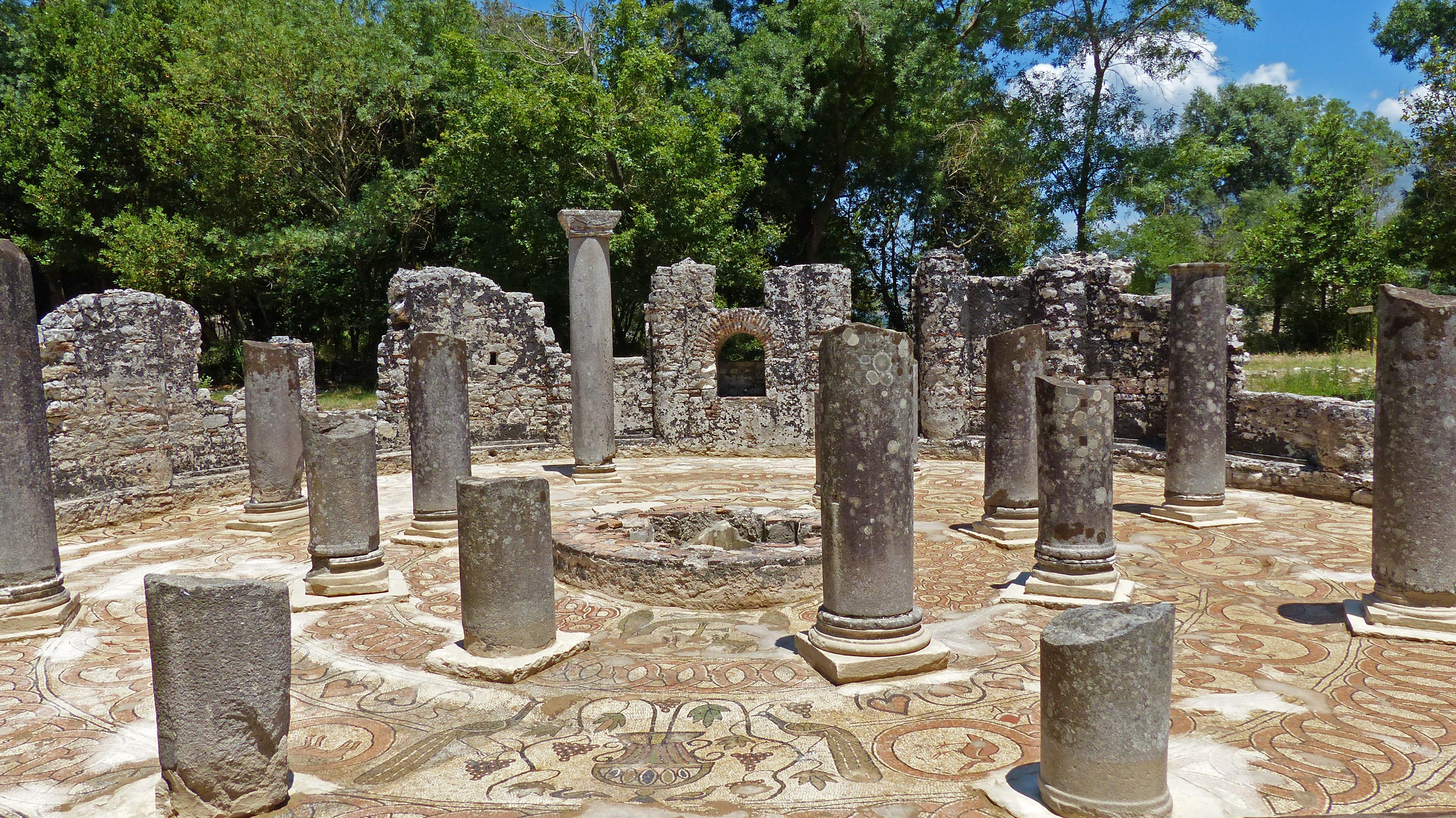 Butrint - l'antique Bouthrotos