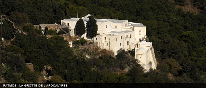 Patmos - Grotte de l'Apocalypse 700x300 -
