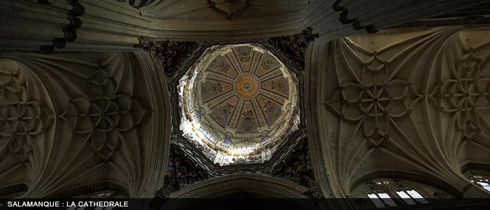 Salamanca - cathédrale nouvelle 700x300
