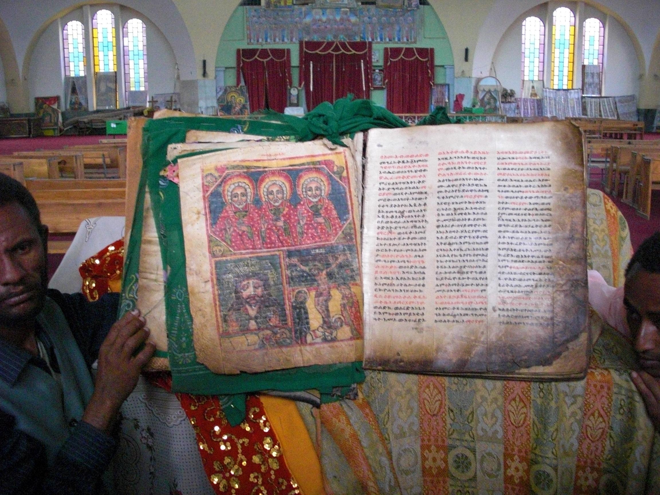 Nouvelle cathédrale d'Axoum livre illustré